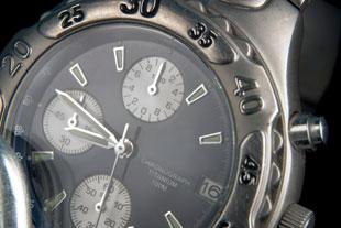 Chronograaf-klok